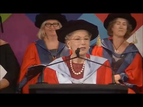 Dr Susan Alberti AC - Honorary degree recipient
