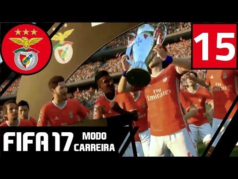 'O FIM...' | SL Benfica FIFA 17 Modo Carreira #15