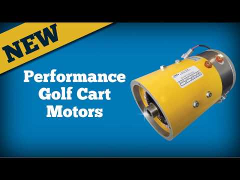 Performance Golf Cart Motors From FSIP