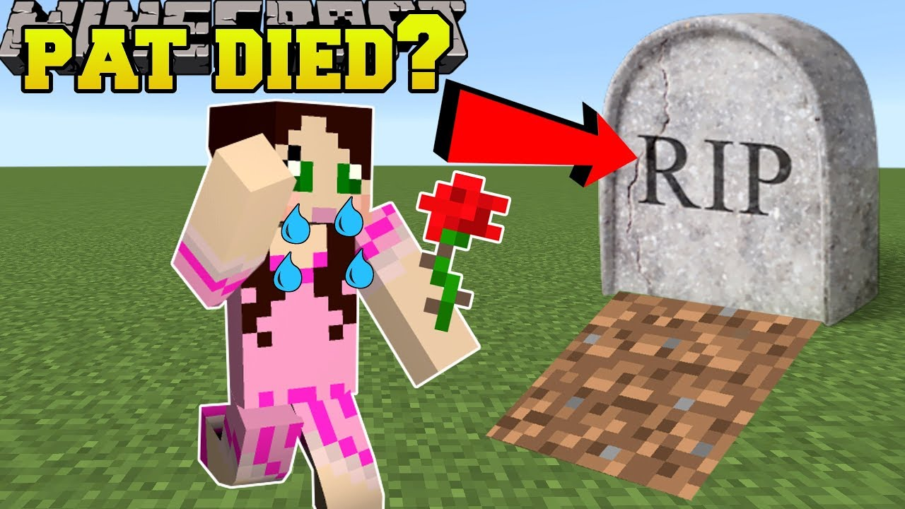 Pat And Jen Roblox Youtube Murder Mystery 2 Minecraft Pat Is Dead Mini Game Youtube