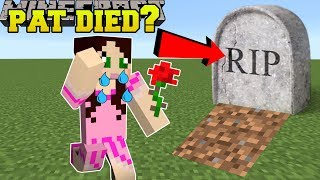 Minecraft: PAT IS DEAD!?!? - Mini-Game
