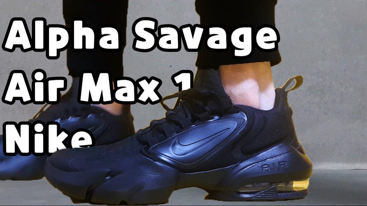 zapatillas nike air max alpha savage
