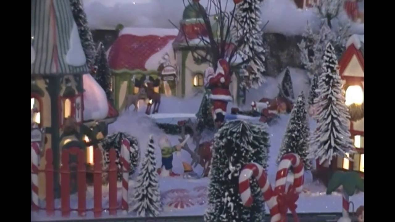 North Pole Christmas Village 2015 ~ Heather and Jerome - YouTube