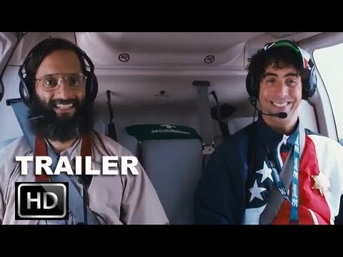 The Dictator  Trailer 2 [HD]: Sacha Baron Cohen as Admiral General Aladeen: ENTV