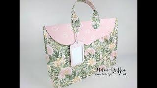 Tutorial | Landscape Gift Bag Die Set | Handbag Instructions