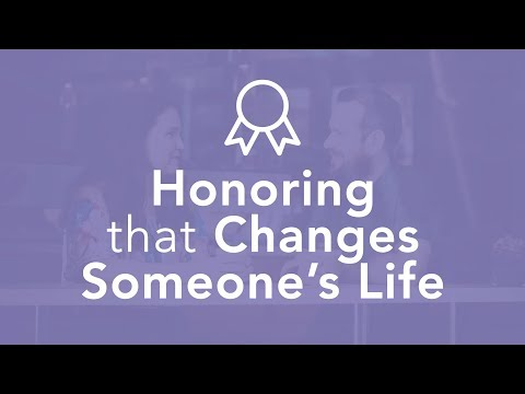 Honoring that Changes Someone's Life - Bruce Downes The Catholic Guy