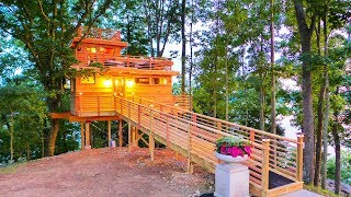 Amazing Modern The Frank Lloyd Wright Lake Treehouse | Viet Anh Design Home