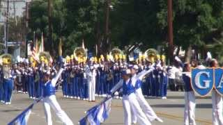 Garey HS - The High School Cadets - 2013 Chino Band Review