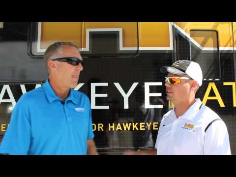 Chuck Long visits with Hawkeye Nation on RVTV