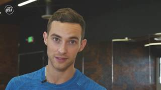 Figure Skater Adam Rippon and Dancer Jenna Johnson Discuss Unique Relationship