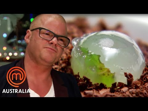Heston Blumenthal Tries Space Themed Food | MasterChef Australia | MasterChef World