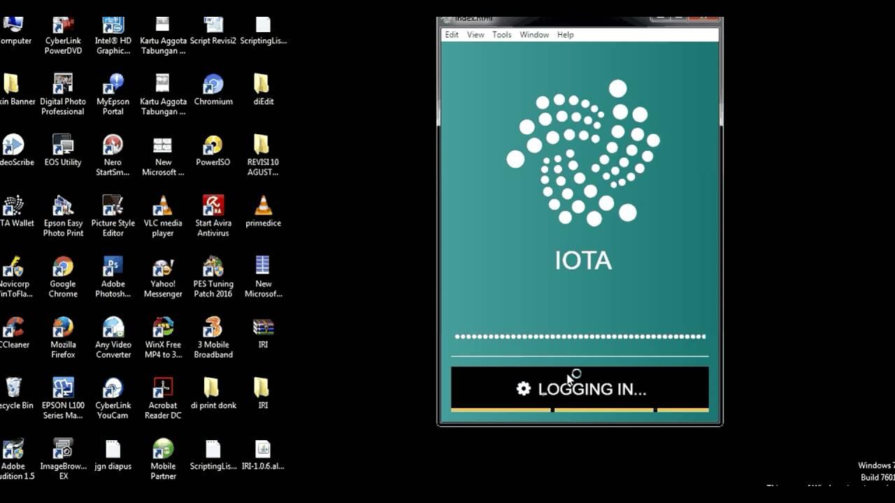 Iota Tutorial For Installing The Wallet On Windows Youtube