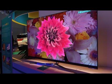 Hisense MU8700 4K HDR TV at CES