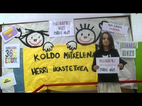 Euskararen eguna 2015-Koldo Mitxelena Ikastetxea 02