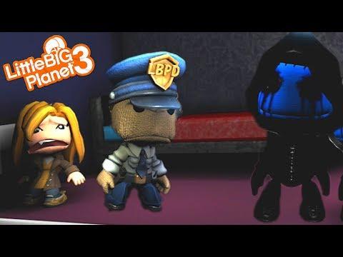 EYELESS JACK IS AFTER SACKBOY | LittleBIGPlanet 3 Gameplay (Playstation 4)