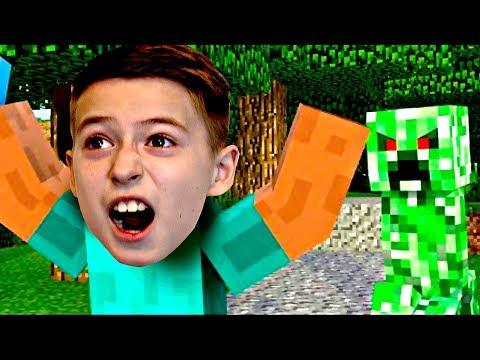 ДОЖДАЛИСЬ! Майнкрафт Зомби протим Мегароса Minecraft Zombi vs NUB майнкрафт выживание для детей