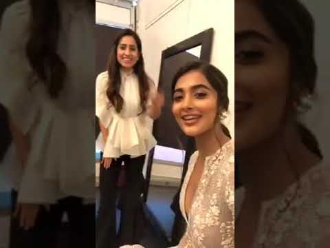 Pooja hegde hot  live video