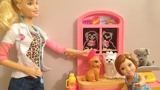 Novelinha da Barbie - Aninha visita o Petshop da Barbie Veterinária - Julia Silva