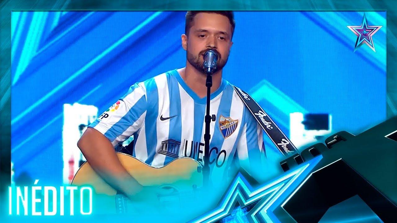 Este CANTANTE mezcla sus 2 pasiones: ¡el FÚTBOL y la MÚSICA! | Inéditos | Got Talent España 5 (2019)