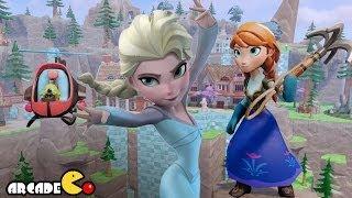 Disney Frozen Elsa's Snowy Slingshot - Frozen Elsa