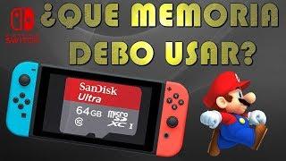 Memoria micro SD para Nintendo Switch