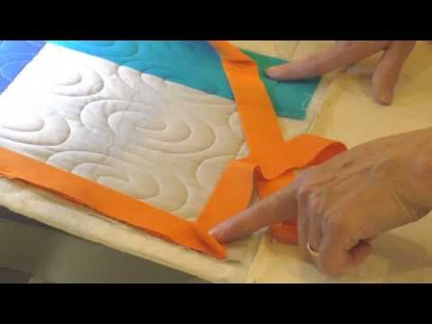 Apqs Video Tutorial Attaching Binding On A Longarm