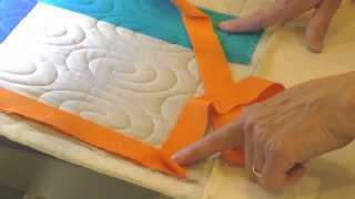 APQS Video Tutorial: Attaching Binding On A Longarm