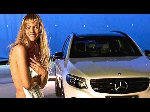 Doutzen Kroes INTERVIEW Sexy Behind The Scenes Mercedes Fashion Week 2015 CARJAM TV