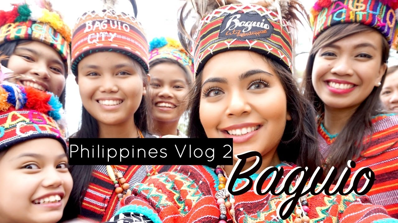 Philippines Vlog 2 - Visiting Baguio! - YouTube