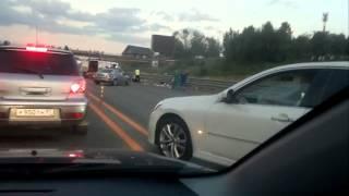 Ужасное дтп в Подмосковье Новорижском шоссе 18 08 2013 Подборка