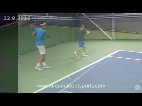 Tennis ForeHand compare Federer vs Karlemo