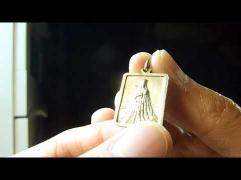 Antique French Catholic Medal