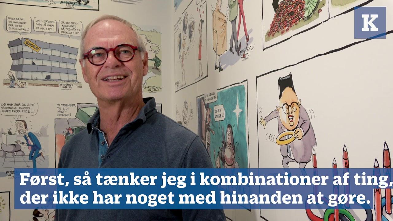 Jens Hage: Det kendetegner en god satiretegning