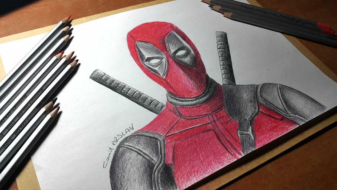 Drawing Deadpool çizimi Youtube