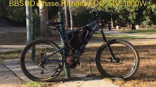 Bafang BBSHD with Grin Phase Runner Sinewave Controller