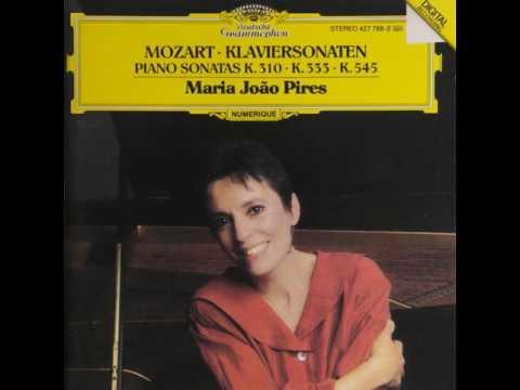 모차르트 피아노 소나타 13번B플랫장조 K.333 / 마리아 조앙 피레스