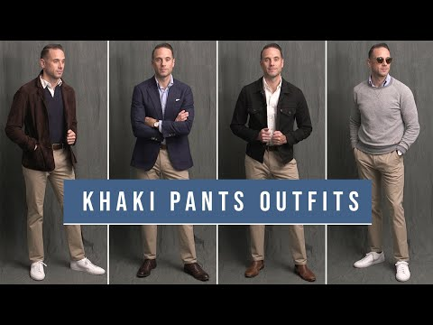 8-ways-to-wear-khaki-pants-|-chinos-with-boots,-loafers-&-sneakers