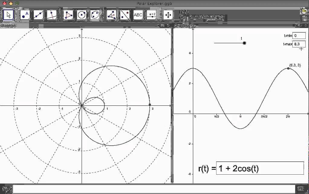 polar graphs from rectangular graphs youtube rh youtube com