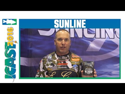 Sunline TW Exclusive FC Sniper Invisible Fluorocarbon With Brett Hite | ICAST 2016