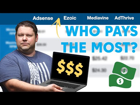 What Ad Network Pays Bloggers the Most? (We tested them all)