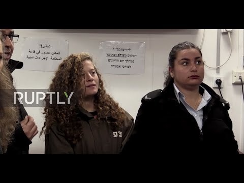 State of Palestine: 16-yo Palestinian girl charged with assault after slapping Israeli soldier