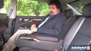 2014 Hyundai Equus Signature vs Ultimate Test Drive Luxury Car Video Review смотреть