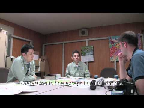 "Scene from ""Surviving Japan "" Sendai City Disaster prevention office"