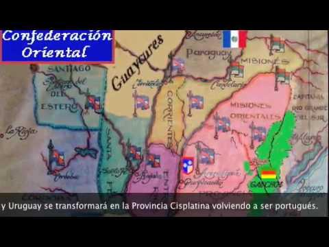 Artigas, primera República Oriental y Confederación de los Pueblos Libres