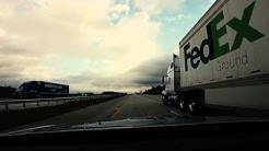 Jacksonville, FL to Portland, OR Roadtrip Timelapse 11/2015