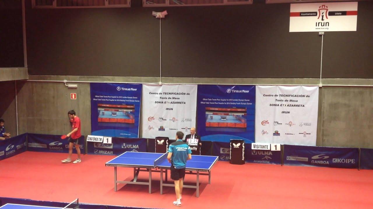 jaime vidal joan moreg spanish table tennis superdivision 2013 rh youtube com