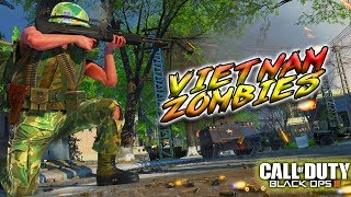 VIETNAM VILLAGE WITH ZOMBIES? | BLACK OPS 3 ZOMBIES GAMEPLAY COD
