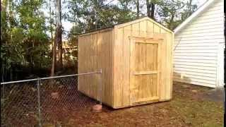 8x10 Gable Shed - Shed Plans - Stout Sheds Llc