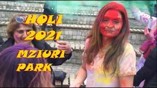 Holi Celebration in Mziuri Park, Tbilisi, Georgia By ICC Lakshmi / ჰოლის დღესასწაული თბილისში