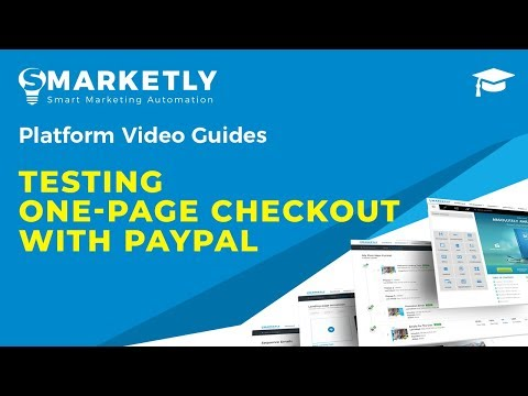 Testing One-Page Checkout With PayPal On Your Shopify   Video Guides   Smarketly For ECommerce